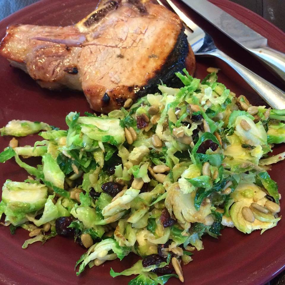 Looking for something creative for your bbq? Try this Easy Apricot Orange Marinade with a bonus Brussels Sprouts Recipe!