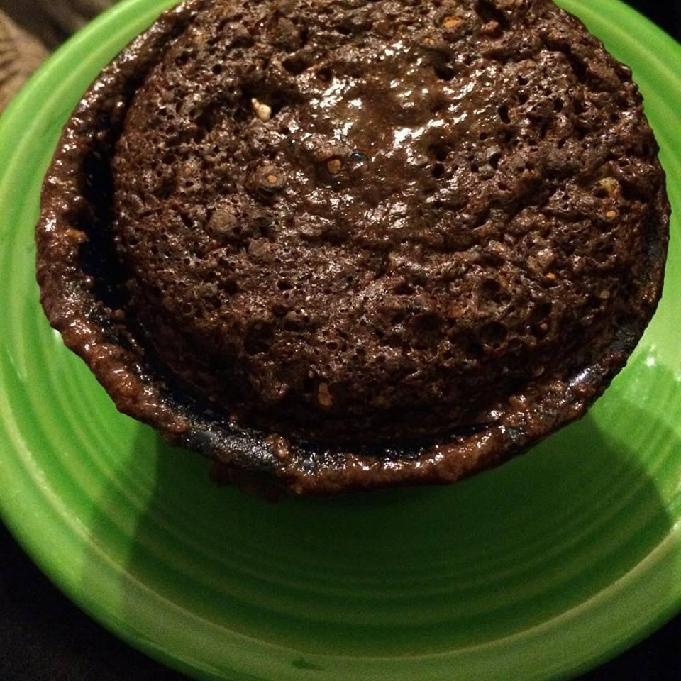 Volcano Mudslide Muffin - Trim healthy mama recipes