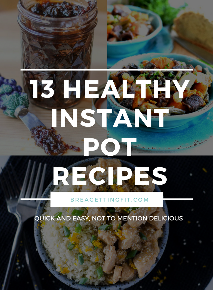 You're like a chicken with its head cut off...and then (just for fun) let's throw dinner in there!! I have got your back, mama. These healthy instant pot recipes are fast, and kid approved. #breagettingfit #instantpot #recipes #healthy #food #quick #easy #dinner