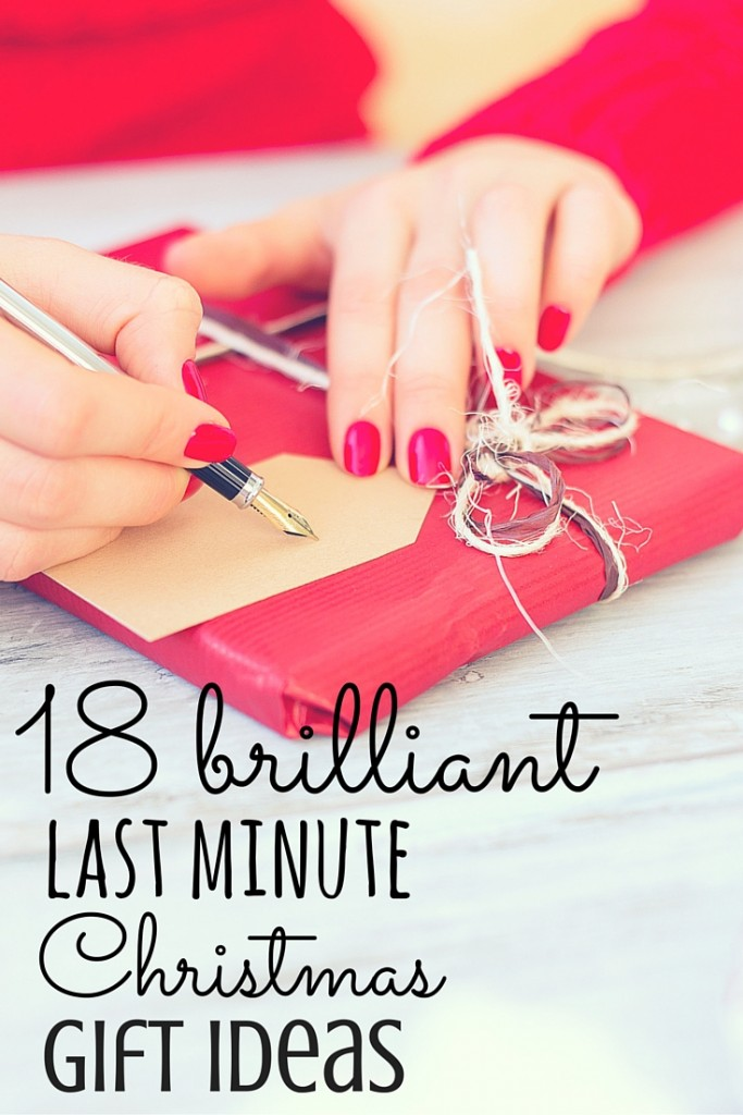 18 Brilliant Last Minute Christmas Gift Ideas + Discount Codes!
