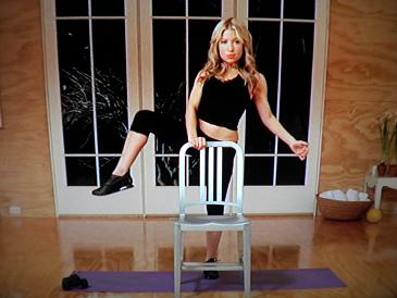 tracy anderson method mat workout