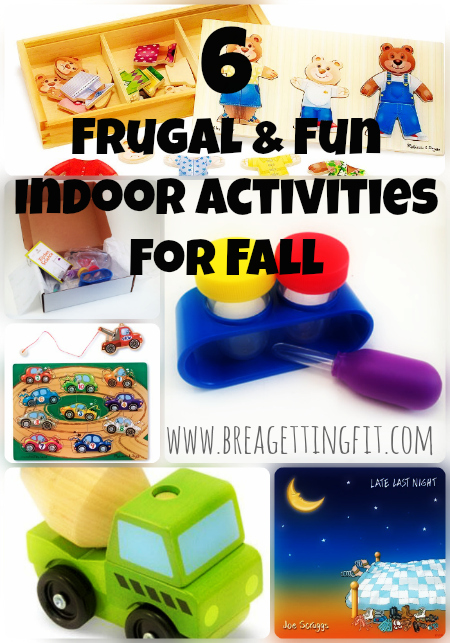 6 Frugal & Fun activities to get through the colder months that you can play again and again.