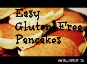 quick and easy homemade gluten-free pancakes
