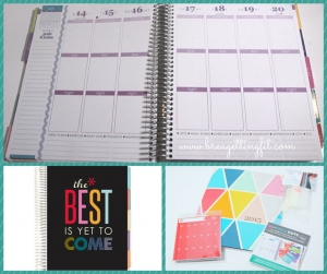 choose a planner that helps keep you organized!
