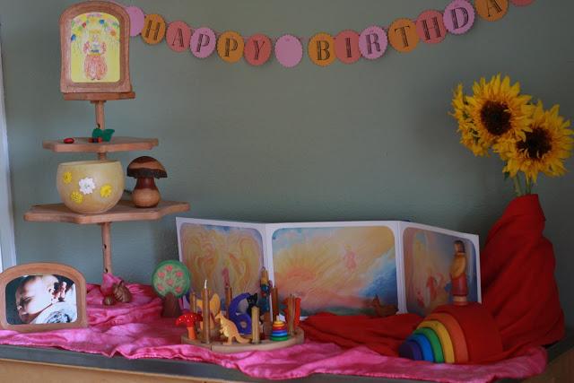 waldorf child birthday boy Boy 1st Birthday Party Ideas