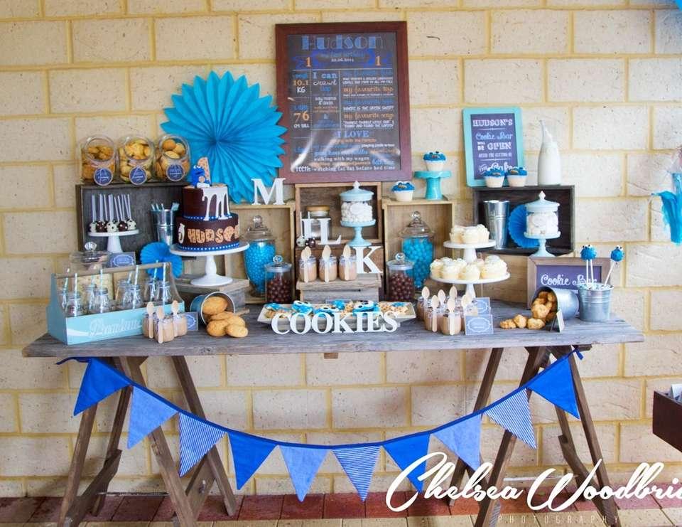 cookie monster first birthday boy Boy 1st Birthday Party Ideas