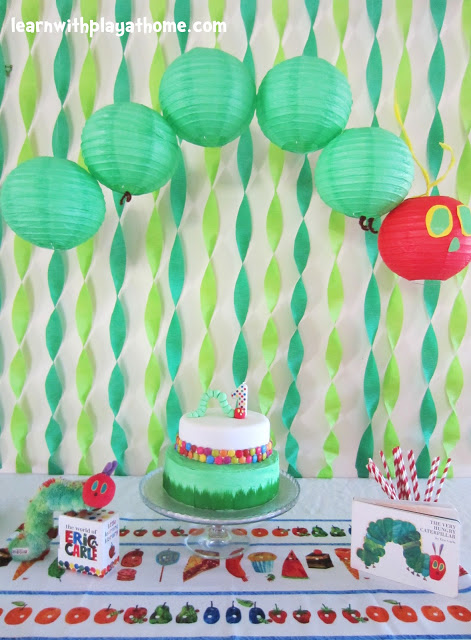 the very hungry caterpillar birthday boy Boy 1st Birthday Party Ideas