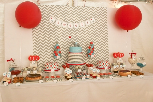 Boy 1st Birthday Party Ideas
