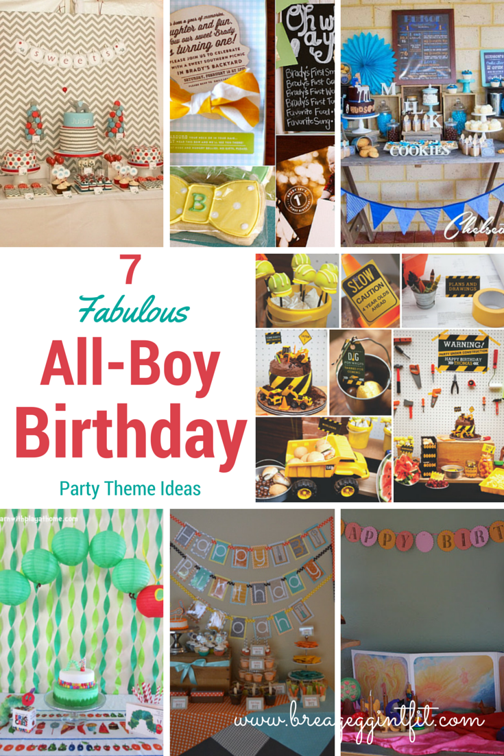 first birthday party ideas for boys 7 Fabulous All-Boy 1st Birthday Party Ideas