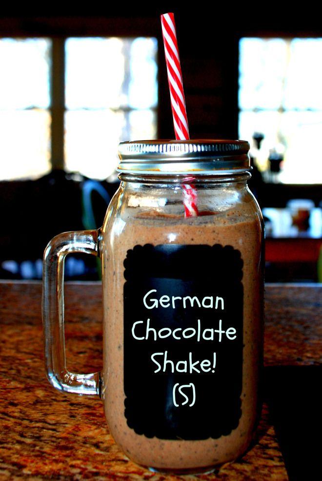 German Chocolate Shake Trim Healthy Mama Recipes