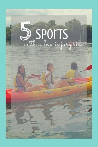 Sports With A Low Injury Risk