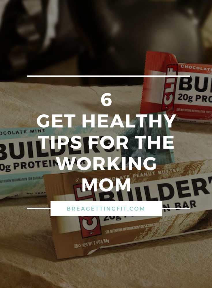 Healthy Tips for the Working Mom