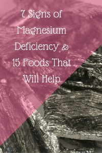 7 Signs of Magnesium Deficiency & 15 Foods That Will Help