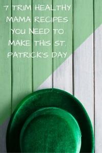My Trim Healthy Mama St. Patrick's Day Recipe Round Up