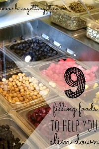 9 Filling Foods To Will Help You Slim Down