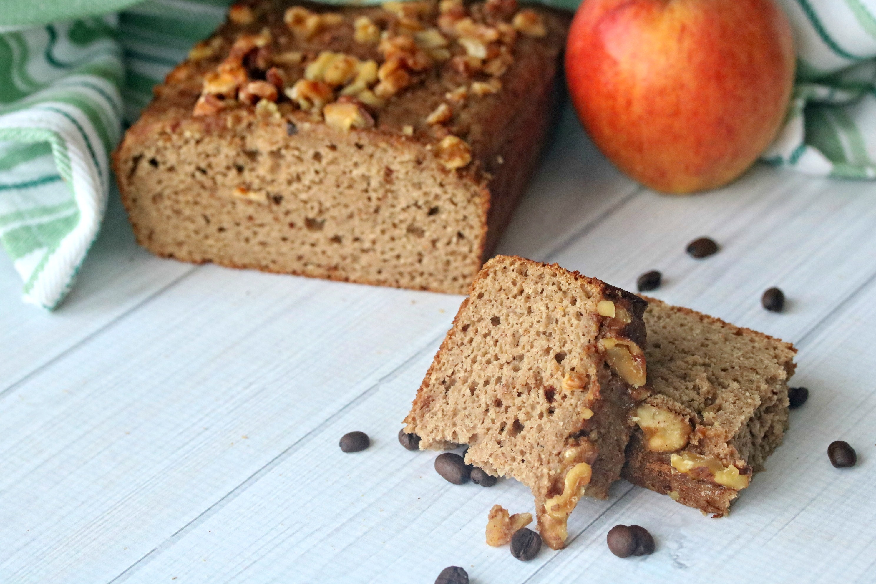 Gluten Free Apple Cinnamon Coffee Cake Recipe