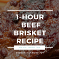 One-Hour Smoky Beef Brisket Recipe