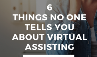 "Being a Virtual Assistant is NOT a ""Get Rich Quick"" Scheme"