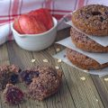 Healthy GF Berry Donuts