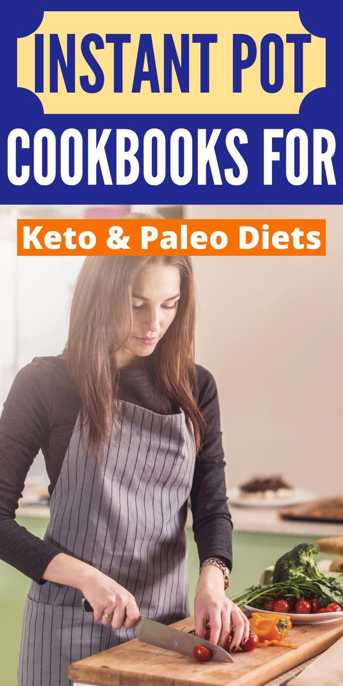 We have found the very Best Instant Pot Cookbooks for Keto and Paleo Diets. These cookbooks are a must-have and have delicious healthy recipes. #cookbooks #instantpot #pressurecooker #keto #paleo #diet #breagettingfit