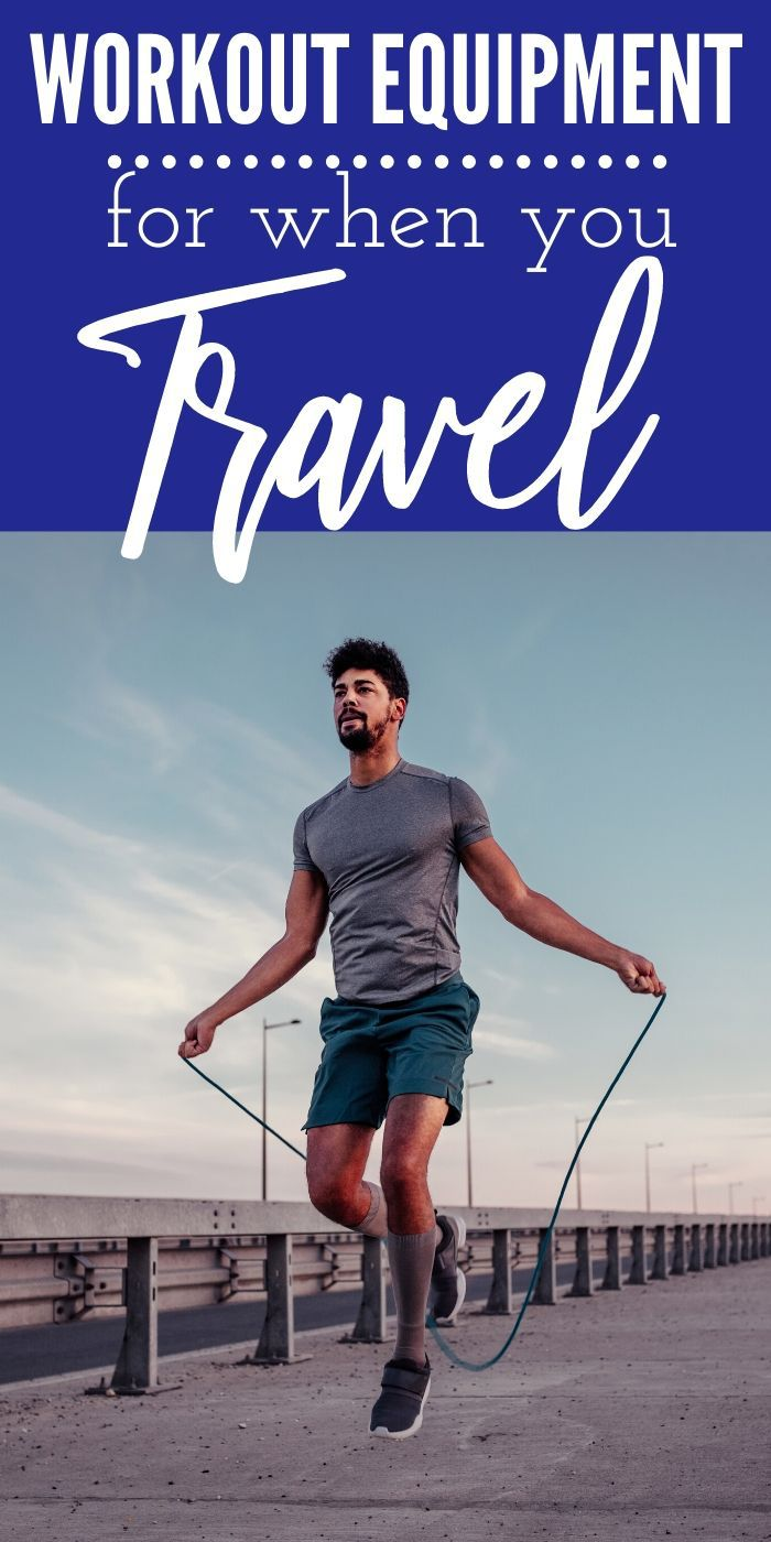 This is the Best Workout Equipment for Travel! If you are planning a trip and want to stay active, check out this workout gear! #workout #travel #workoutequipment #healthy #fittravel #fit #breagettingfit