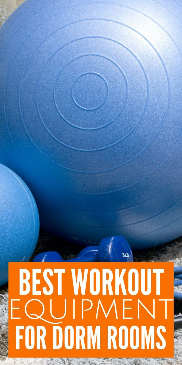 Check out The Best Dorm Room Workout Equipment for your stay at school. Just because you are living in the dorm doesn't mean you can't work out. #workout #dorm #collage #school #fit #healthy #breagettingfit