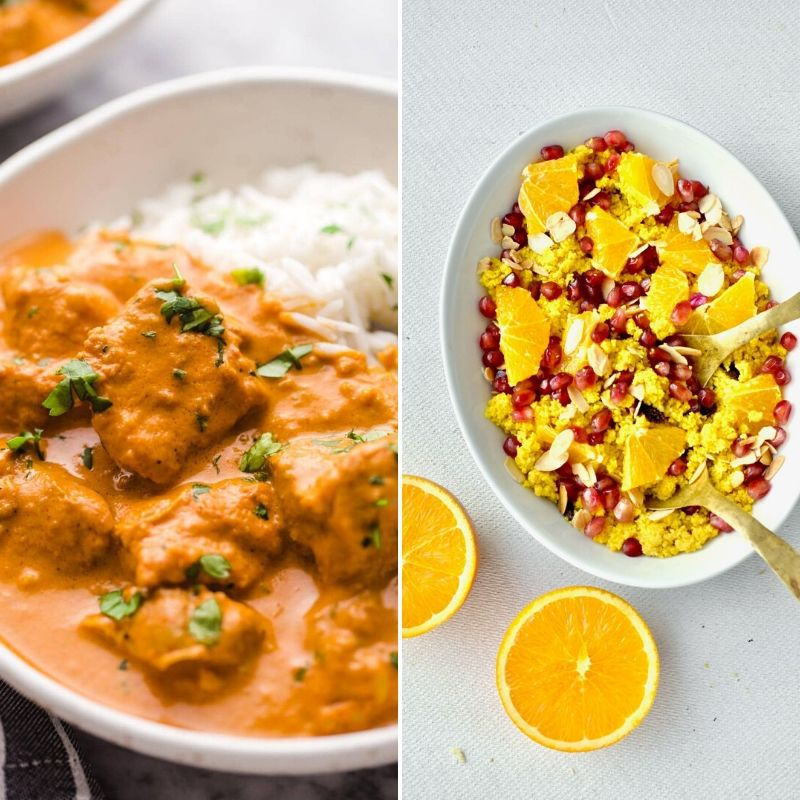 These Delicious Recipes with Turmeric are calling your name. Enjoy some healthy food with TONS of flavor for all occasions. They are easy and tasty. #turmeric #recipes #delicious #easy #breagettingfit