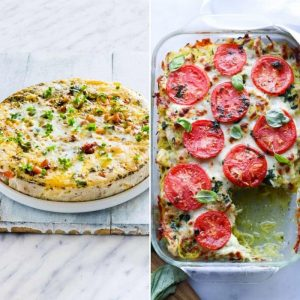 If you've been on the hunt for the best Easy Comforting Keto Casserole Recipes you have found them! Each one is delicious and simple to make too! #keto #lowcarb #casserole #easy #recipes #breagettingfit
