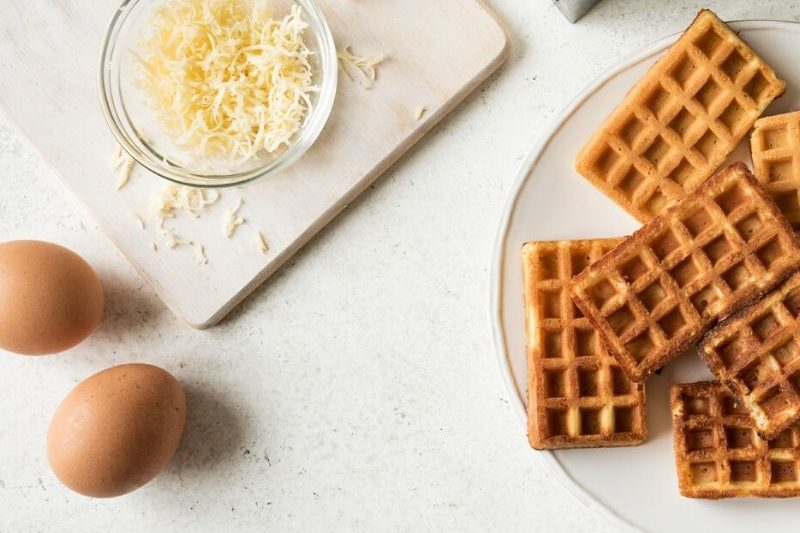 We have the ultimate list of the Best Waffle Maker for Chaffles! These waffle makers will have you enjoying chaffles in no time. #waffles #chaffles #lowcarb #keto #easy #best #breagettingfit