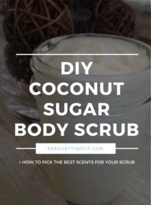 Easy DIY Essential Oil Coconut Oil Sugar Scrub