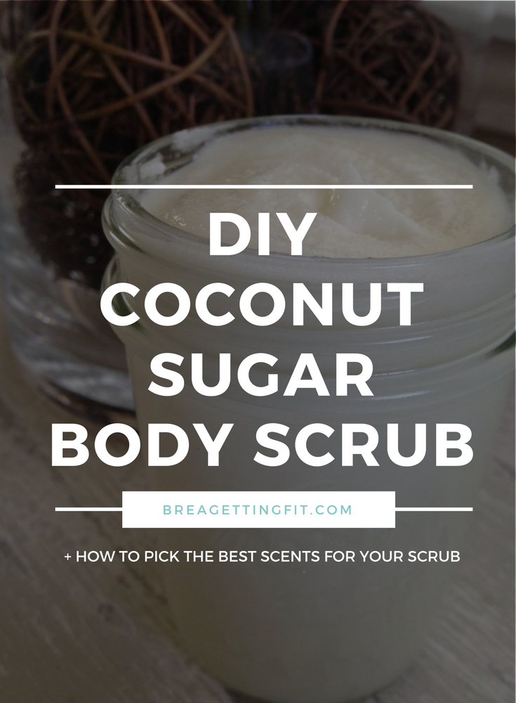Easy DIY Essential Oil Coconut Oil Sugar Scrub