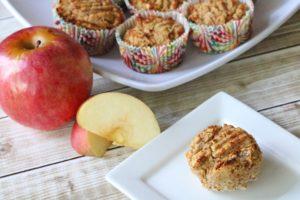 Coconut Flour Apple Muffins (Paleo Breakfast Muffins)