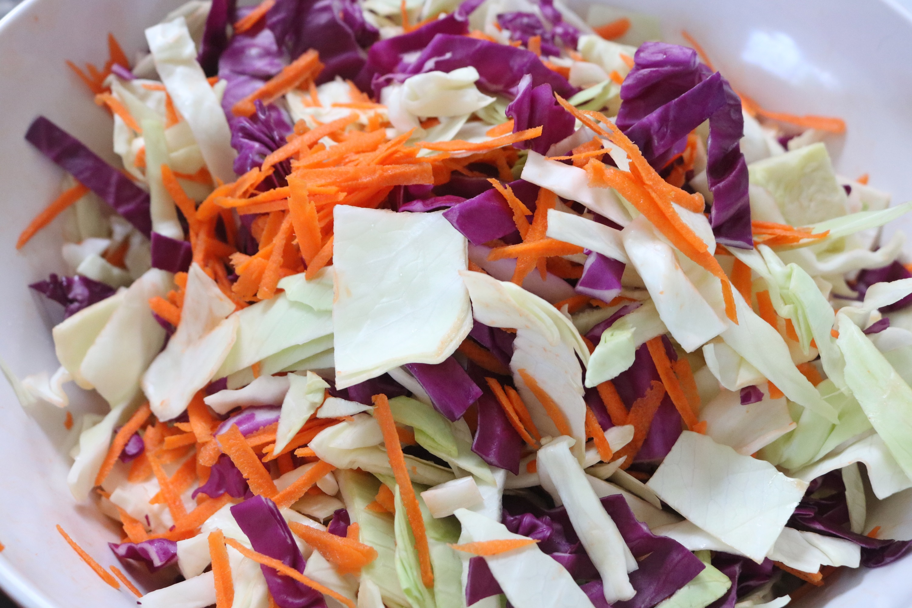 how to make a Curried Cranberry Coleslaw