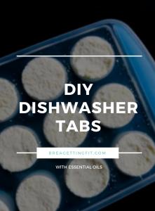 DISHWASHER TABS