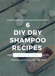 Natural Dry Shampoo Recipes