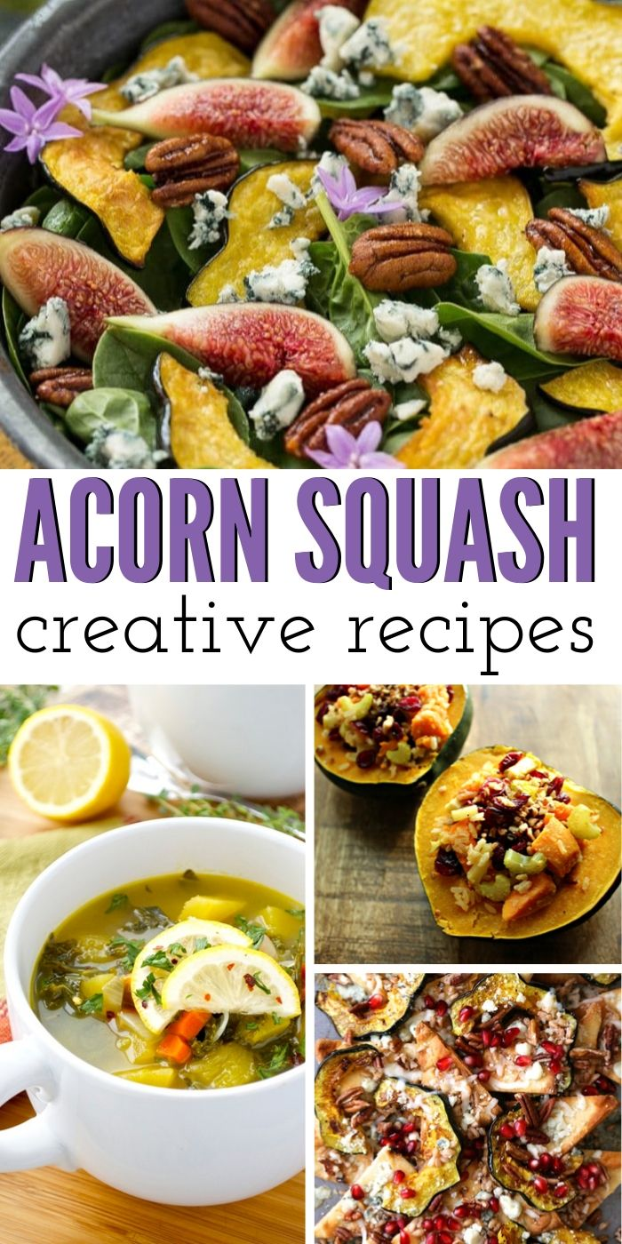 These delicious and mouth-watering acorn squash recipes will have you craving them. Cooking squash is easy and it's a great way to add nutrients to your diet. #acorn #squash #dinner #easy #simple #recipe #recipes #healthy #breagettingfit