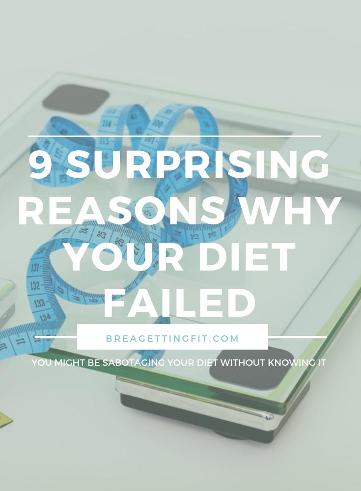 why did my diet fail