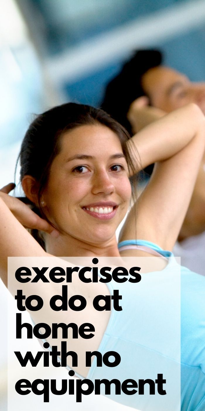 Don't use a shortage of equipment as an excuse, check out these Exercises You Can Do Indoors With No Equipment instead! Stay in shape and feel great.  #exercise #easy #noequipment #simple #athomeworkout #breagettingfit