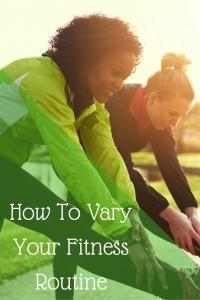 Fitness Routine Shake Up