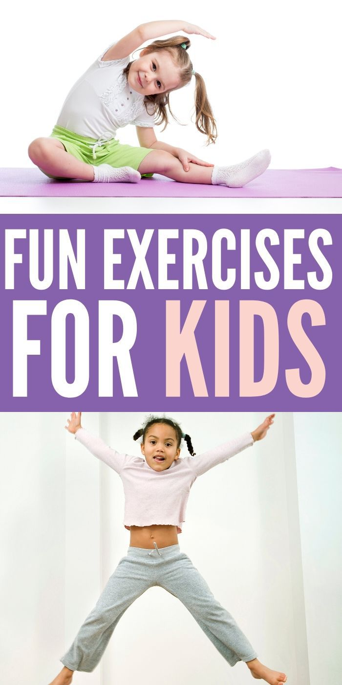 The entire family will enjoy these Fun Exercises For Kids To Do Anywhere. Try them on vacation, hanging out at home or heading to the park. #exercise #kids #anywhere #easy #workout #breagettingfit