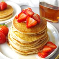 Fluffy Gluten-Free Pancakes – Mix now or save for later!