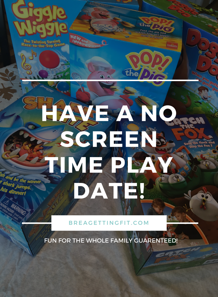no screen time, play date, goliath games, pressman toys, snack time, after school, #playdate #goliathgames #pressmantoys