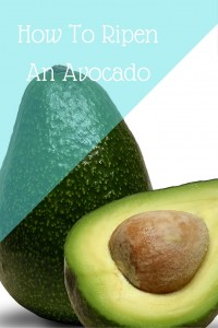 How To Ripen An Avocado...Or Not