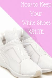 How to Keep Your White Shoes Fierce