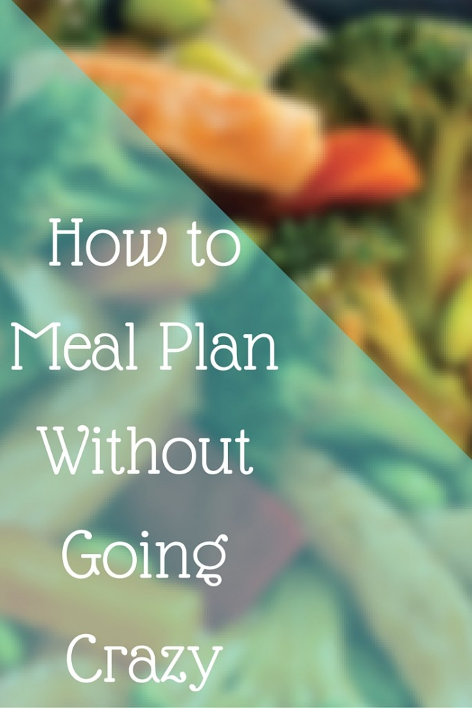 How to Meal Plan Without Going Crazy