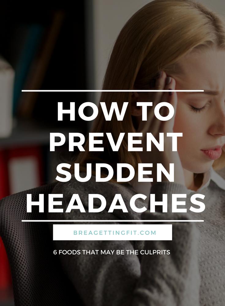 sudden headaches