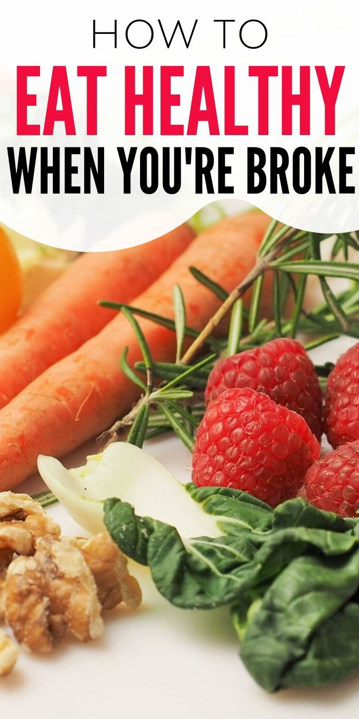 You can eat healthy even when you're broke and it doesn't have to be a pain. I have some helpful tips and ideas to help with healthy eating all the time.  #breagettingfit #eatinghealthy #budgetmealideas #food #easy #healthy