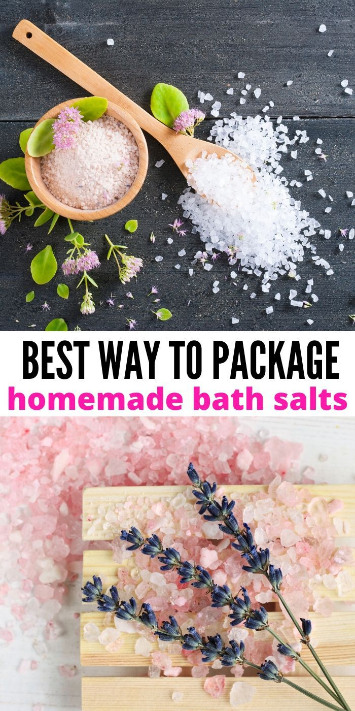 Learn How to Package Bath Salts and you will be able to give out the most lovely gifts. Everyone will enjoy such a great gift idea! #bathsalts #gift #giftgiving #giftwrapping #packaging #breagettingfit