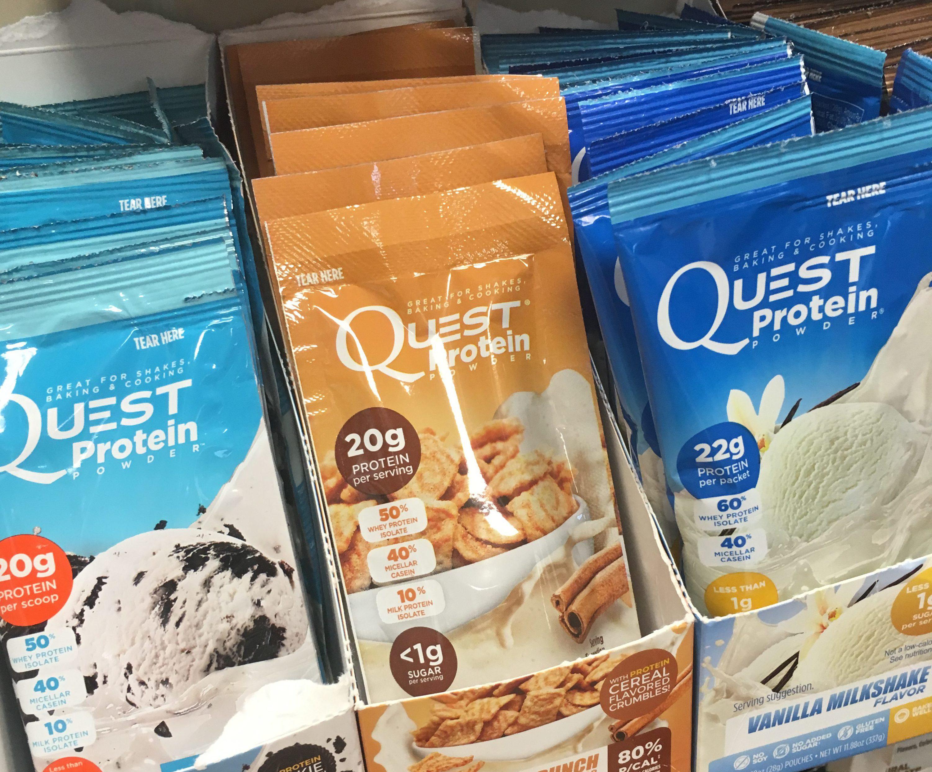 2-Ingredient Breakfast Ice Cream {Quest Nutrition}