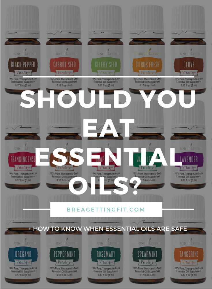 Should You Be Ingesting Essential Oils?
